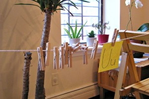 Hung Out To Dry: Fine Motor and Literacy Activity