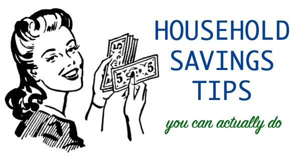 Savings tips for moms at home