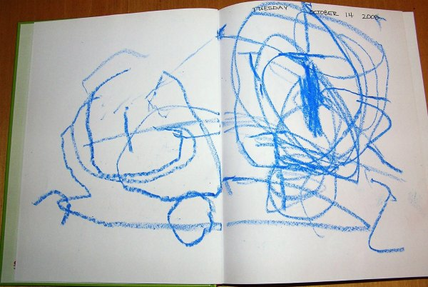 Start a journal with your preschooler