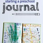 Preschool Journaling