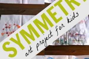 Math Art: Symmetry Project for Kids