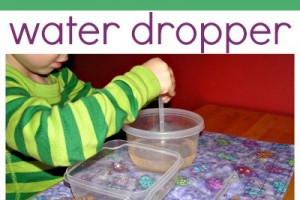 Water Activity for Kids: Drip Drop