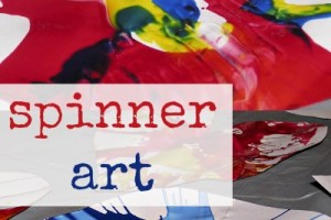 Make spinner art with creative and active kids