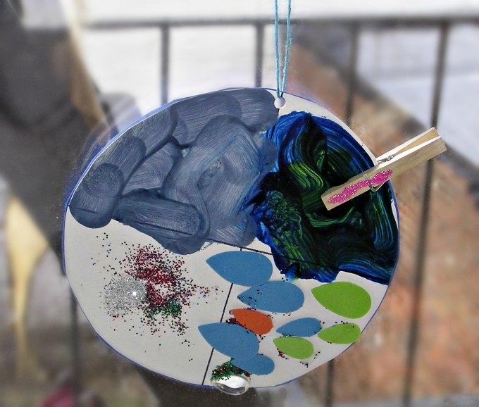 Preschool science craft. Make a weather wheel