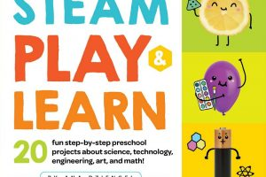 STEAM play and learn preschool book