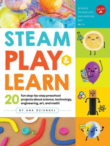 STEAM play and learn preschool book