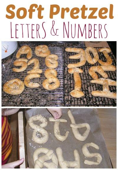 Kids make soft pretzel shapes