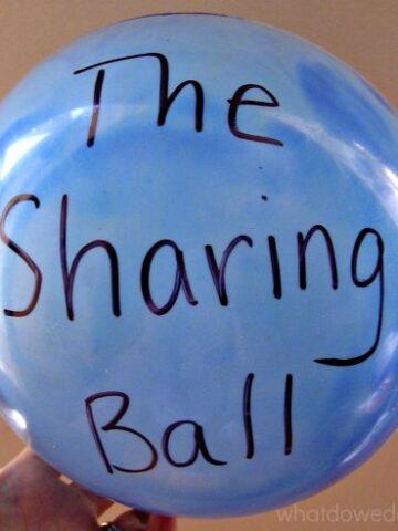 How to teach kids to share.