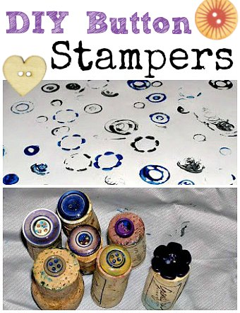 diy button cork stampers