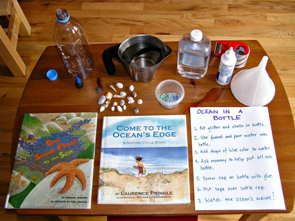 How to make an ocean in a bottle