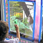Window Painting: Rainy Day Activity