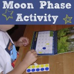 Moon Phase Calendar Activity for Kids