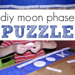 Moon Phase Activity: DIY Puzzle