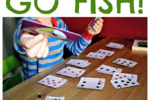 The classic card game Go Fish actually teaches kids great skills