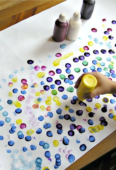 Dot makers and dot themed picture books are so much fun for kids!