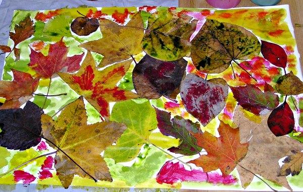 Leaf Art Project For Kids