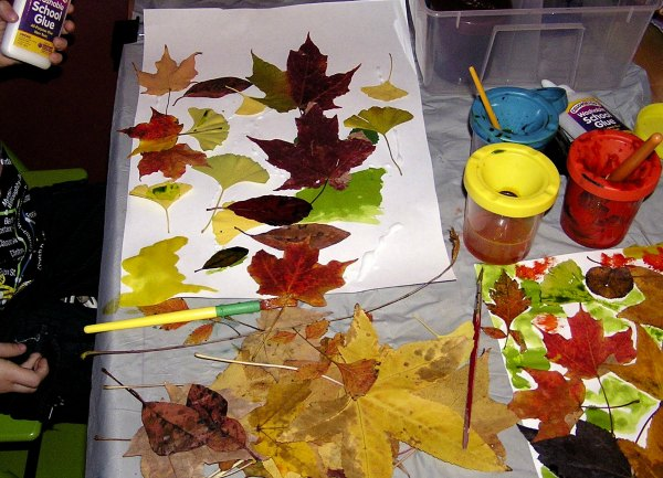 easy fall leaf art project for kids
