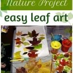 Leaf Art Project for Kids