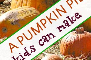 kid friendly pumpkin pie recipe with easy dough