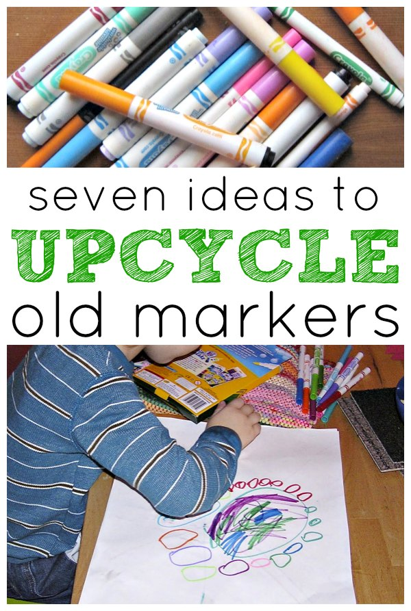 Marking It Up Upcycling Old Markers