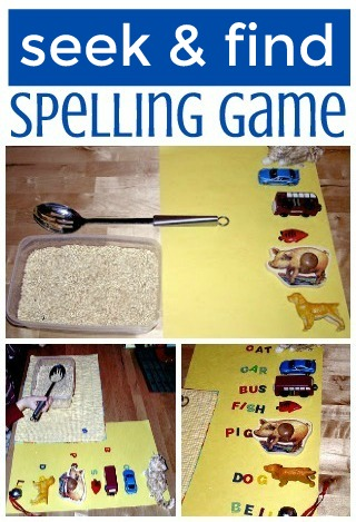 Fun Spelling game for kids