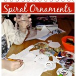 Spiraling Downward: Upcycled Ornament Craft for Kids