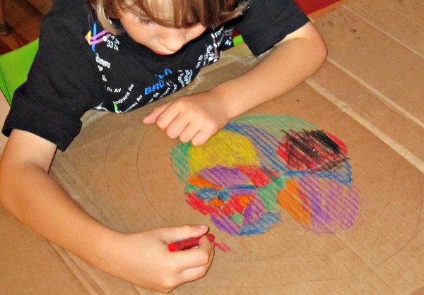 Compass drawing for kids get kids creative with math art.