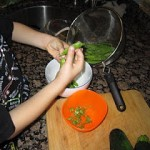 Practical Life: Shelling Peas