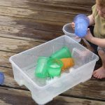 Toddler Ice Play