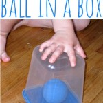 Ball in a Box {Indoor Boredom Buster}