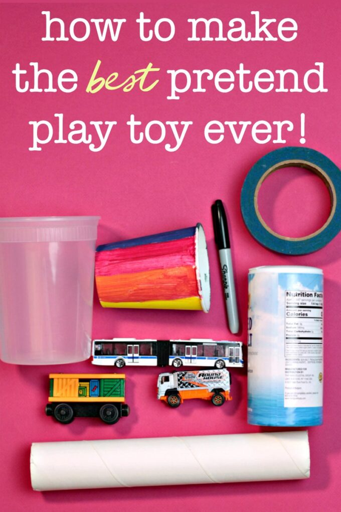 items needed for diy pretend play toy