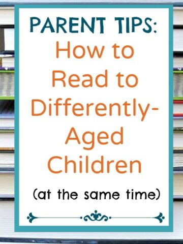 Tips for reading to children of different ages.