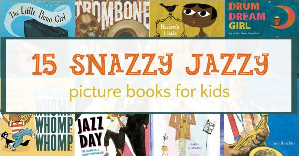 Jazz picture books for kids