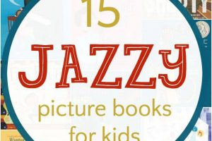 Inspiring and fun jazz picture books for kids