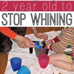 How to Get Your 2 Year Old to Stop Whining