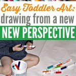 Toddler Drawing from a New Perspective