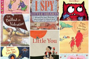 Valentine and love books for kids