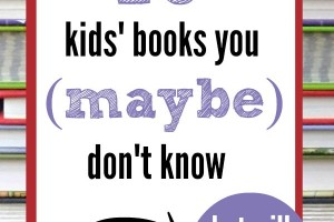 Have you heard of these children's books, yet? You will love them!