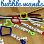 Homemade Beaded Bubble Wands