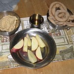 Shiksa in the Kitchen: Bread(sticks), Apples & Honey