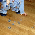 Keep Kids Busy with a Magnet Wand