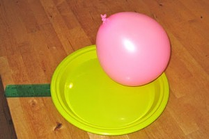 Indoor Balloon And Paddle Play