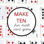 Fun Math Card Game: Make 10
