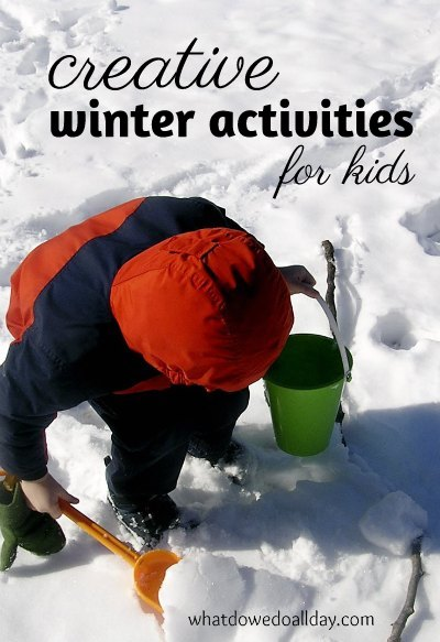 Creative winter activities for kids