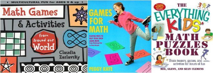 Math game books
