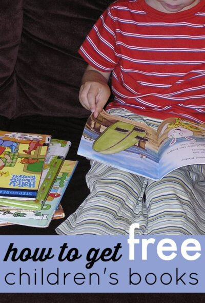 How to get free children's books. Useful tips!