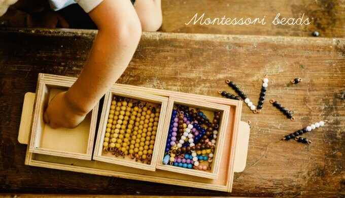 montessori bead bars