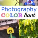Color Scavenger Hunt for Little Photographers