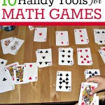 Tools for Math Games at Home