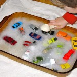 Bubble Bath Toy Car Wash